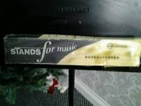 Konig & mayer boxed made in germany music stand adjustable