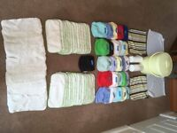Washable nappy set- complete and ready to use