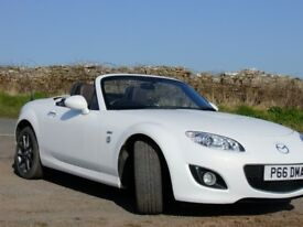 Mazda MX5 2.0i Venture Edition 160ps, Electric Hard Top, Ultra Low Mileage, Full Service History