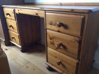 Pine dresser / dressing table