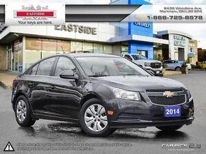 2014 Chevrolet Cruze LT!! P. GROUP!! BLUETOOTH!! ONSTAR NAVI