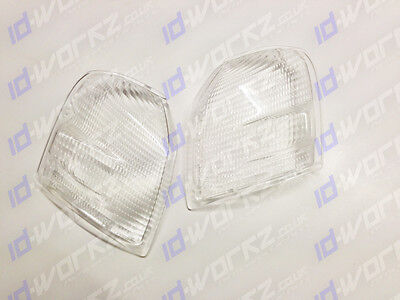 TOYOTA STARLET GLANZA V EP91 CLEAR INDICATOR LENSES LEFT & RIGHT PAIR