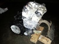 YAMAHA FJ1200 3CV FULL ENGINE WITH OIL COOLER AND PIPES AROUND 46K MILES