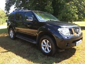 nissan pathfinder mamouth aventura 2.5 dci 2008 top spec