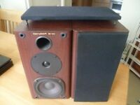 2 x genexxa hi fi bookshelf speakers