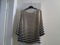 VARIOUS LADIES TOPS - SIZE 12 - FROM NEXT / DOROTHY PERKINS, H&M, ETC. - £3.00 PER ITEM - GC