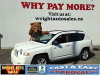 2010 Jeep Compass | 4X4| ALLOYS| CRUISE CONTROL| 141,213KMS| $8,