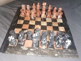 Marble chess set Handmade Unique
