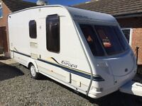 Sterling Europa 2 Berth Caravan, Immaculate With Lots of Extras
