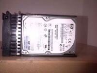 List of hard drives for sale mixed