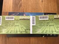 RUNRIG Farewell Concert tickets x2