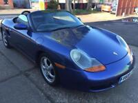 Porsche boxter 2.7 petrol manual full service history low mil 86k