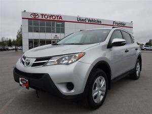 2013 Toyota RAV4 LE AWD TOYOTA CERTIFIED PRE OWNED