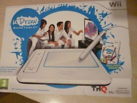 nintendo Wii I draw gametablet. still in box never used, good as brand new.