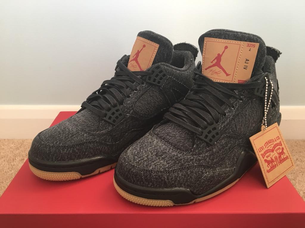 half off 7447b 3d67c Nike Air Jordan 4 Levi's UK 6 | in Radstock, Somerset | Gumtree