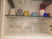 Assorted Glasses and Mugs