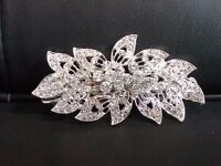 Vintage style Bridal/Bridesmaid haircomb, very sparkly and very lightweight