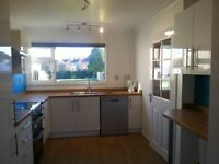 Immaculate newly decorated throughout, very spacious end of terrace property, sunny garden & garage