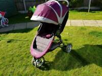 Purple city select pram