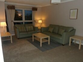 Modern 2 bed top floor furnished flat in Anderson Court, Wishaw for rent