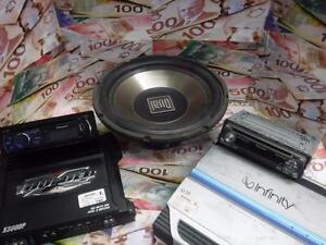 CAR AUDIO EQUIPMENT WANTED!! WE WILL BUY YOUR USED CAR AUDIO EQUIPMENT AND GET PAID CASH!*