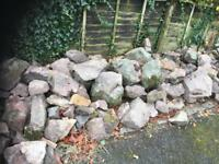 Malvern Stone for rockery etc
