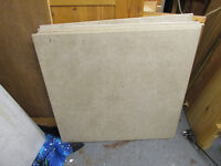 6 off slightly mottled cream porcelain floor tiles not glossy finish MADE IN ITALY