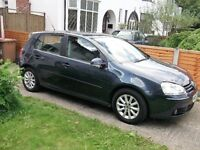 VOLKSWAGEN GOLF MATCH FSI 115 A BLUE (AUTOMATIC 6 GEARS) 2008
