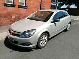 2009 Vauxhall Astra 1.6, Silver, Design Model, 3 Door, 12 Months Mot, Half Leather Seats