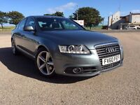 LUXURY AUDI A6 2011 S-LINE LIMOUSINE-DIESEL EXAMPLE WITH*ONLY*40K GENUINE MILEAGE-SPOT ON EXAMPLE