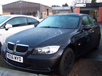 56 plate 2007 BMW 3 SERIES 1995 CC LOW MILAGE 83000 MOT,D JUNE 2 KEYS NEW LOW PRICE £2995
