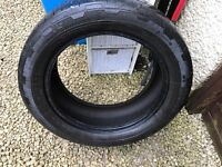 255/50R19 continental tyre - part worn with some tread left