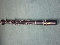 Sonata Bb clarinet in original case with tube cleaner and protective cover