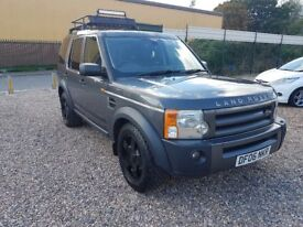 2006 Land Rover Discovery 2.7 TDV6 7 seats 4WD 4x4 off road black wheels SNOW TYRES raedy for WINTER