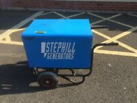 YANMAR STEPHILL DIESEL GENERATOR 4 .0 KVA 115/230V FULLY TESTED GOOD CONDITION