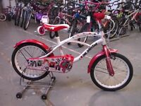 GIRLS ONE DIRECTION BIKE 16 INCH WHEELS