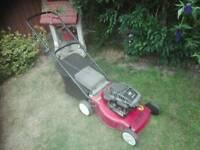 "Mountfield petrol lawnmower hp470 17"" 45cms just serviced"
