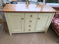 Oak sideboard cream