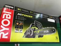 Ryobi 1900w AC Power electric chainsaw - RCS1935 new in the box