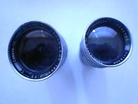 Canon Serener 135mm M39 Screw Lenses.