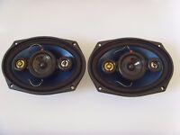 Kenwood 6x9 Coaxial 3-way 210W Car Parcelshelf Loud speakers