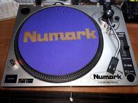 x2 Numark TT1510 belt-drive Turntables (amazing condition)-full working order.