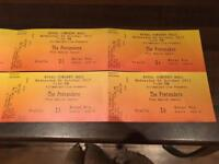 4 X The Pretenders tickets £40 each - 4/10/17
