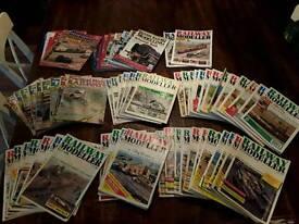 Model railway magazine collection