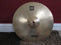"Cymbal Stagg Double Hammered 14"" medium crash"