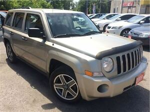 2009 Jeep Patriot Sport/North /4WD / LOADED / ALLOYS