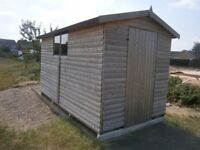 12 X 6 HEAVY DUTY 20MM LOG SHED