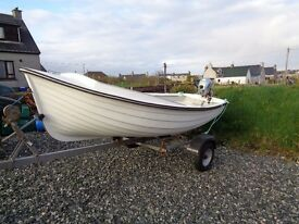 13ft boat with outboard