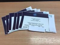 6 tickets to see John Legend in concert