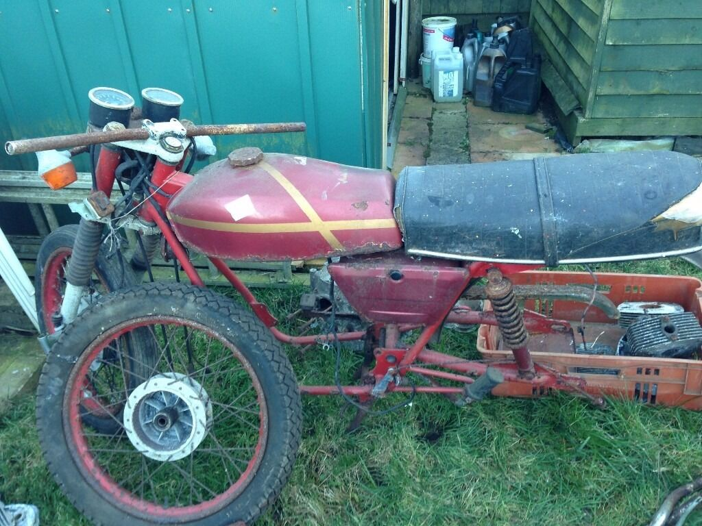 Gilera 150 Arcore frame, other Gilera frame and components job lot